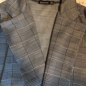 Boohoo Jackets & Coats - Gingham lightweight trench coat